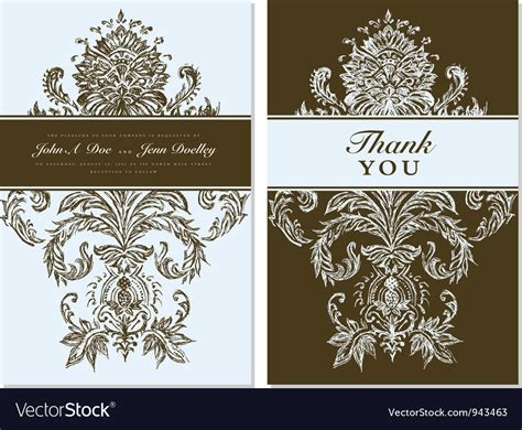 Free Illustrator Thank You Card Template by Thank You Card Templates Royalty Free Vector Image
