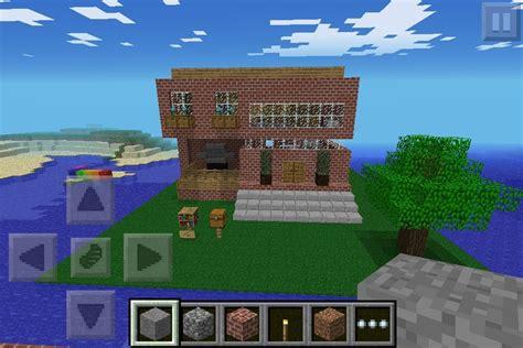 House Design In Minecraft Pe Minecraft Pe House Diy