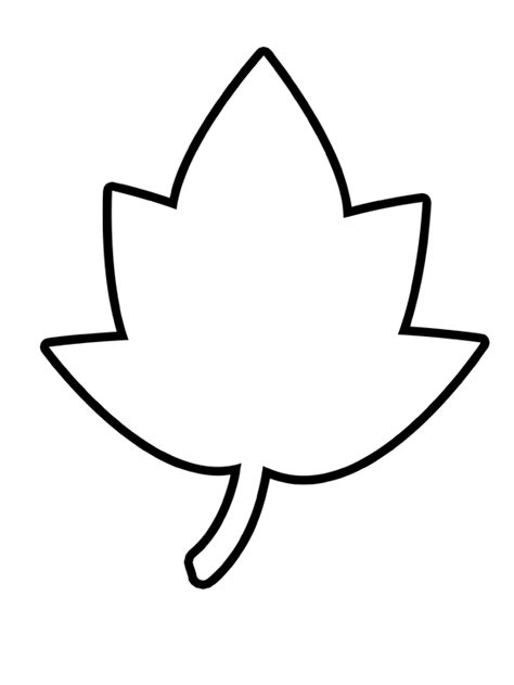free leaf templates printable maple leaf template free printable clipart best