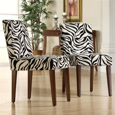 Zebra Dining Chairs Outdoor