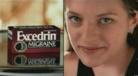 excedrin commercial actress elisabeth moss excedrin commercial mad men actress on