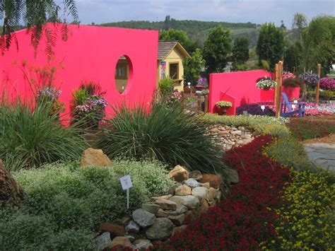 Garden Wall Paint Color Basic Design Principles Using Color In The Garden