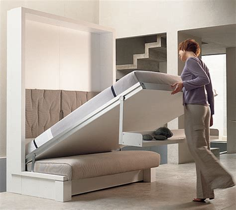 Space Saving Bed | house construction in india space saving beds