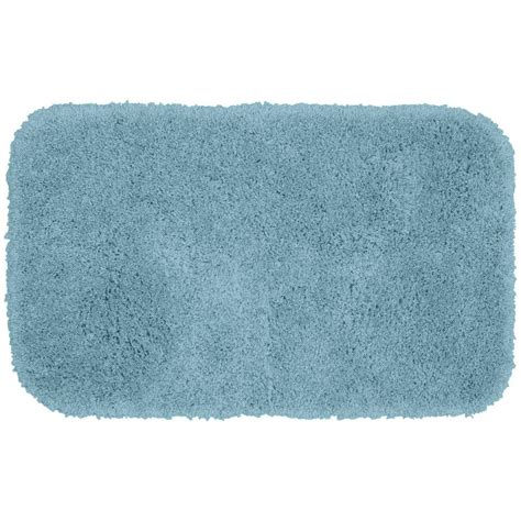 bathroom accent rugs garland rug serendipity basin blue 24 in x 40 in