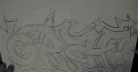 reskews graffiti tutorial  wildstyle sketching