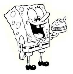 spongebob thanksgiving coloring pages spongebob thanksgiving coloring sheets coloring pages
