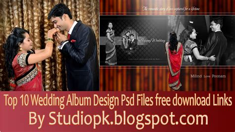 Wedding Album Design Psd Files by Top 10 Wedding Album Design Psd Files Free Links