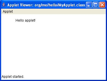 form design in java applet integrating an applet in a web application