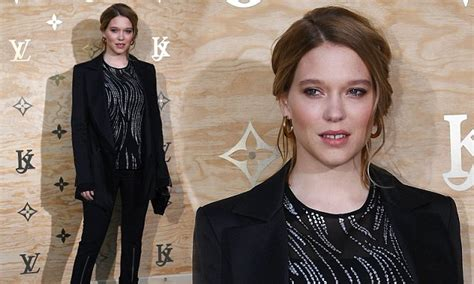 lea seydoux mother lea seydoux attends dinner three months after giving birth