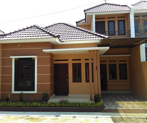 warna cat rumah minimalis tampak depan terbaru rumah