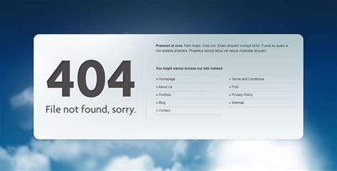 404 page not found html template 50 404 not found page website templates sixthlifesixthlife