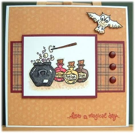Harry Potter Handmade - 16 best images about card ideas on tfios all