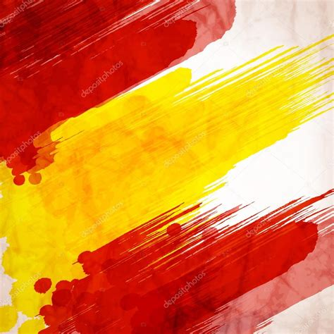 spain colors watercolor spain flag stock vector 169 tatkuptsova 76277973