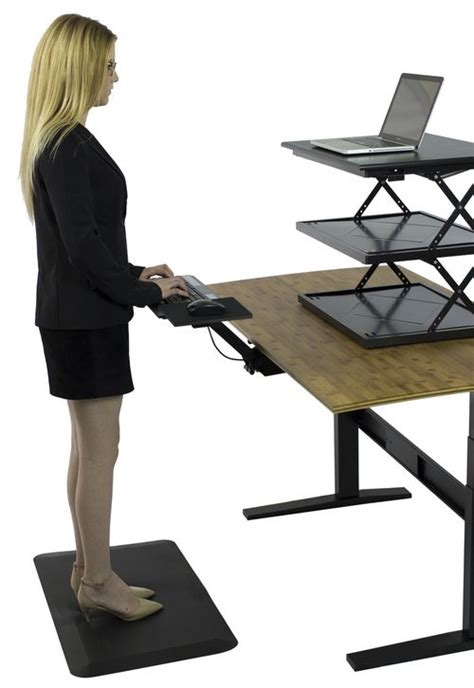 standing desk keyboard tray 21 best standing desks and keyboard trays images on