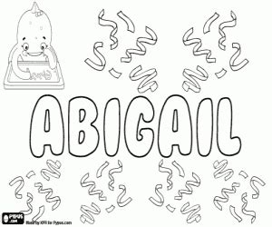 coloring pages of the name abby girl names with a coloring pages printable games 2
