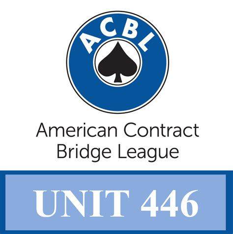 acbl sectional bridge results acbl unit 446