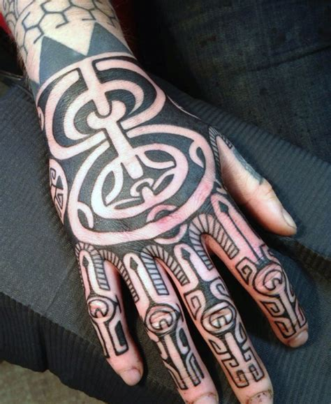 tribal hand tattoos for men 40 tribal tattoos for manly ink design ideas