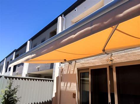 orange color awnings ecoshade solutions