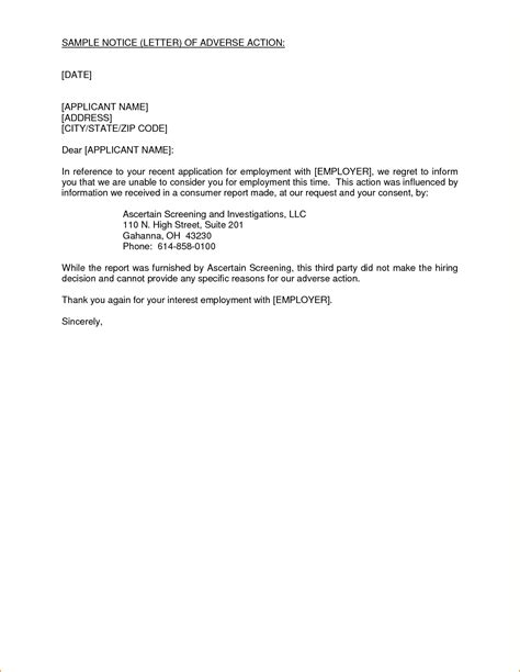 writing a letter of notice to employer the letter sle