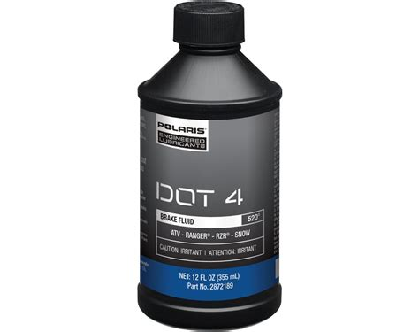 Global Brake Fluid Dot 4 dot 4 brake fluid 12 oz polaris rzr