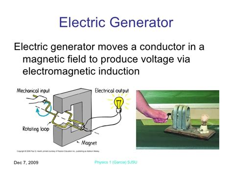 induction generator ac or dc electromagnetic induction