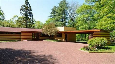 frank lloyd wright style homes for sale rare frank lloyd wright designed prefab for sale in hudson