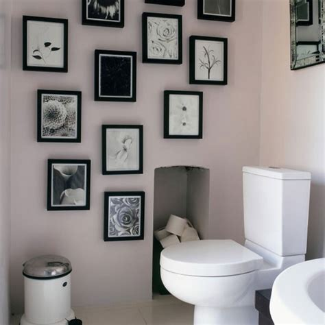 personalised cloakroom how to decorate with monochrome