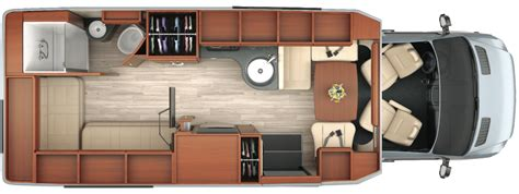 Mercedes Sprinter Floor Plan by Rent Leisure Serenity 2015 In California