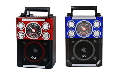 Pr Equalizer Coustic Ac 900 Usb Sd qfx cs 144 rechargeable karaoke speaker am fm eq usb sd aux flashlight headsetmic