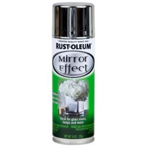 home depot paint effects rust oleum specialty 6 oz mirror finish spray paint
