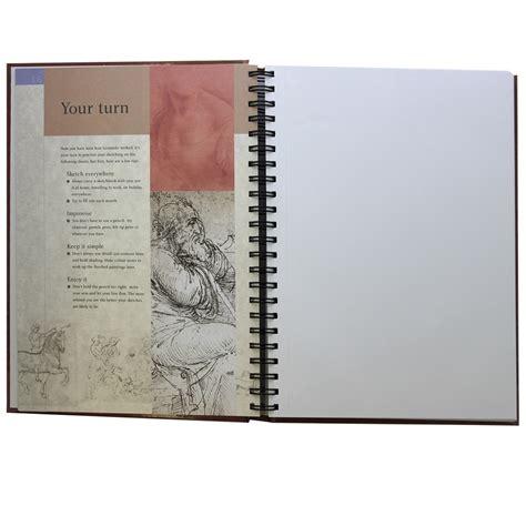 sketch book a4 sketchbook a4 leonardo da vinci 96 blank sheets