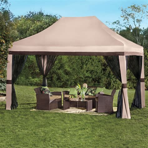 5 X 10 Gazebo Beautiful Gazebo With Screen 5 10 X 10 Pop Up Gazebo With