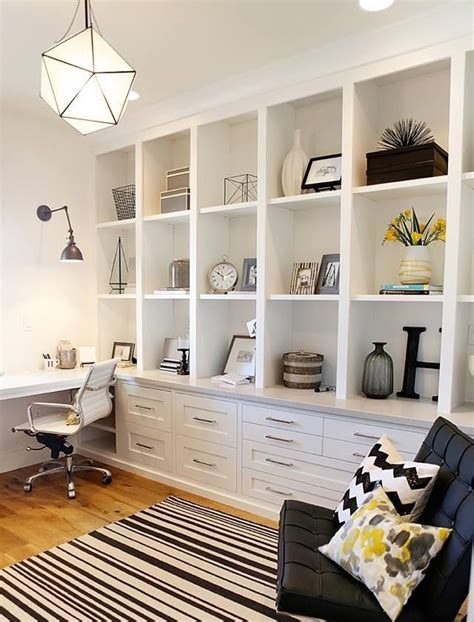 desk wall unit combinations a very functional home office the full wall shelving unit