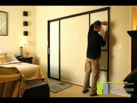 Your Home Interiors by The Sliding Door Company Double Wall Slide Installation