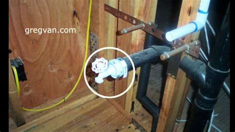 Plumbing Test by Plumbing Waste Water Testing Valve Home Building
