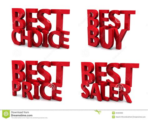 best for the price best price 3d stock photos image 23463363