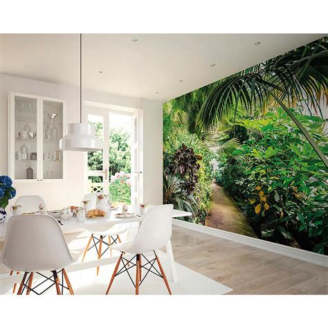 brewster wall murals brewster leafy wall mural wals0197 the home depot