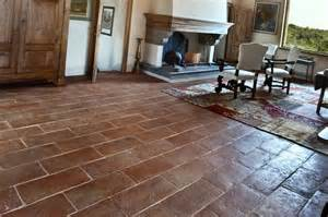 terra cotta flooring america italiana floors collections tuscan walnut plank traditional kitchen orange