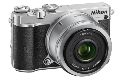 small with interchangeable lenses nikon 1 j5 compact with interchangeable lenses and