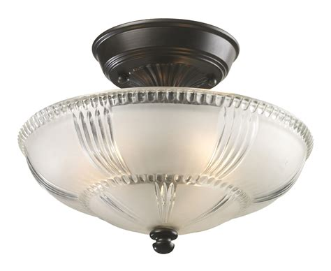 3 Light Semi Flush Mount Ceiling Fixture Elk Lighting 66335 3 Restoration Semi Flush Ceiling Fixture