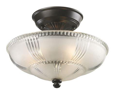 Elk Light Fixtures Elk Lighting 66335 3 Restoration Semi Flush Ceiling Fixture
