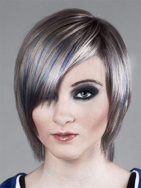 graue glatte haare damen friseurcom