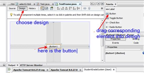 browse button in java swing java netbeans gui programming stack overflow