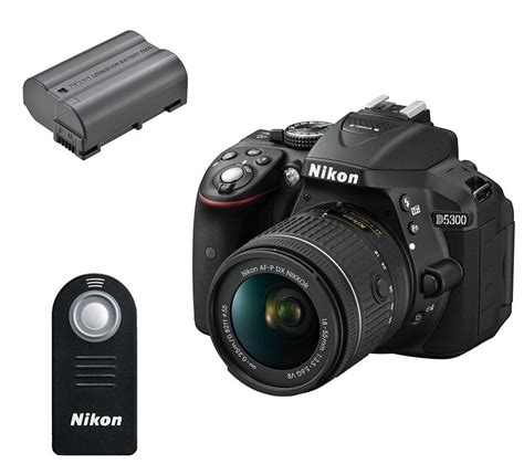 Nikon D5300 Kit Black Aksesories buy nikon d5300 dslr with dx 18 55 mm f 3 5 5 6g vr