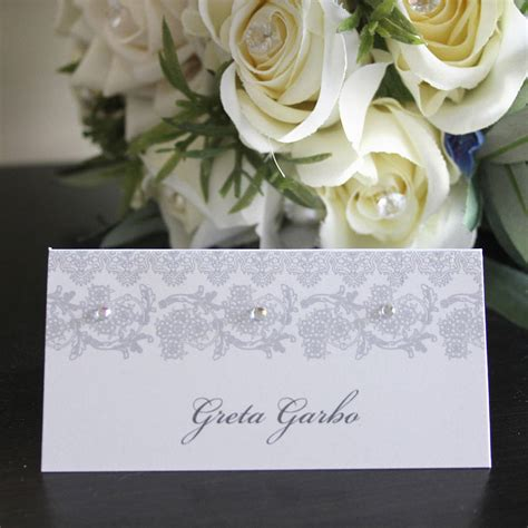 wedding card name wedding place card name card by 2by2 creative