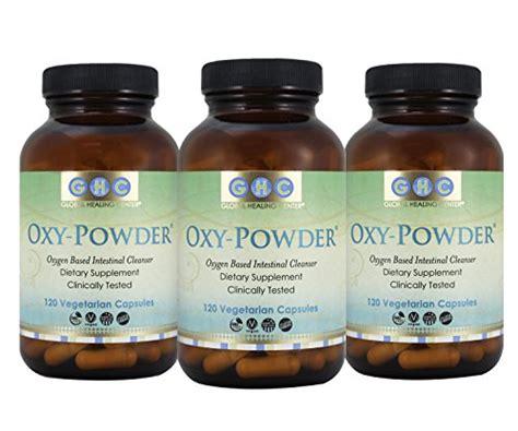 Liquidaily Oxy Aloe Detox by Oxy Powder 3 Pack Organic Oxygen Based Colon Cleanse