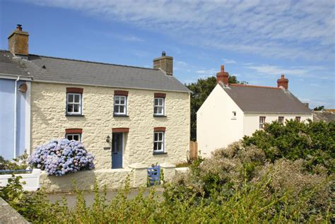 quality cottages wales stunning views seabirds and saints stones on a walk from solva to trefin quality cottages