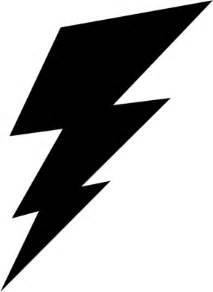Lightning Bolt Black And White Black And White Lightning Bolt Clipart Best