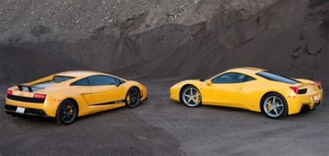 Lamborghini Murcielago Vs Gallardo Lamborghini Supercars 458 Italia Vs Lamborghini