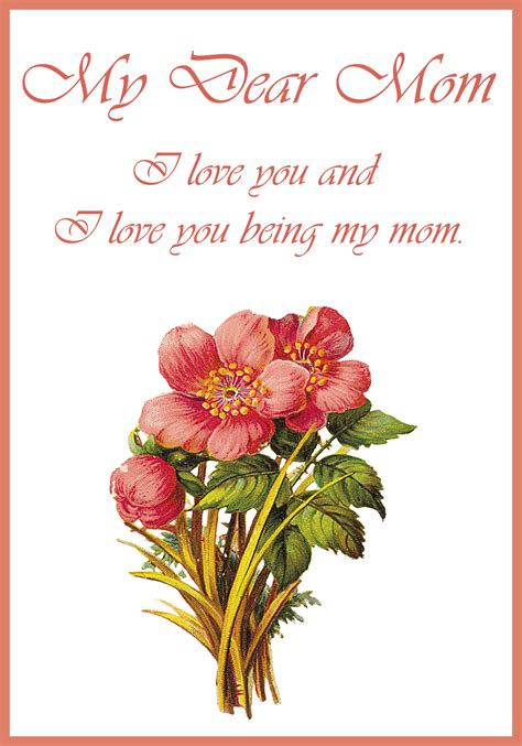 floral s day card printable 17 s day greeting cards free printable greeting cards